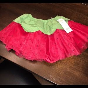 Gymboree Strawberry Tutu